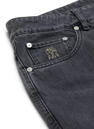 - BRUNELLO CUCINELLI - 水洗修身纯棉牛仔裤