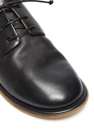 细节 - 点击放大 - MARSÈLL - GUARDELLA系带真皮德比鞋式穆勒鞋
