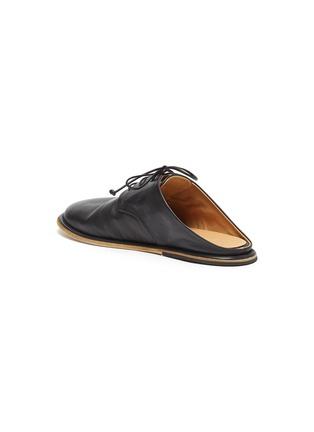 - MARSÈLL - GUARDELLA系带真皮德比鞋式穆勒鞋