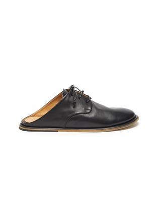首图 - 点击放大 - MARSÈLL - GUARDELLA系带真皮德比鞋式穆勒鞋