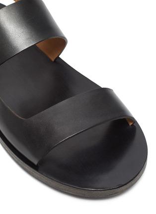 细节 - 点击放大 - MARSÈLL - SANDELLONE双搭带真皮凉鞋