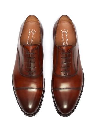 细节 - 点击放大 - ANTONIO MAURIZI - 真皮牛津鞋