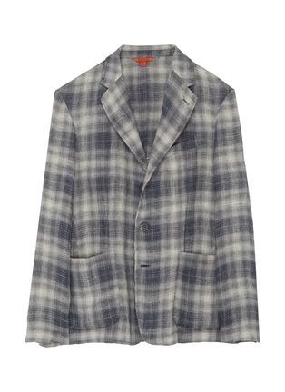 首图 - 点击放大 - BARENA - PIERO ROMASO拼色格纹西服外套