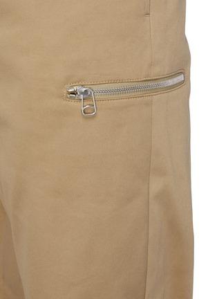 - OAMC - 腰带纯棉露踝裤
