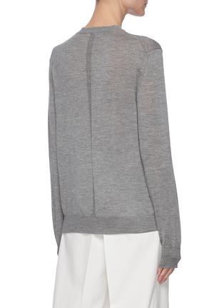 背面 - 点击放大 - THE ROW - Islington圆领羊绒针织衫