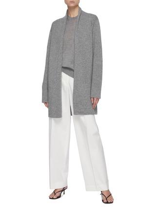 模特儿示范图 - 点击放大 - THE ROW - Islington圆领羊绒针织衫