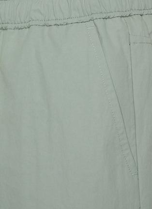 - RAG & BONE - Eaton松紧裤腰混棉短裤