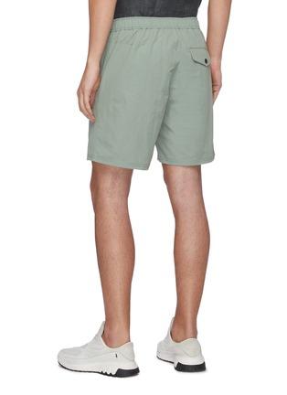 背面 - 点击放大 - RAG & BONE - Eaton松紧裤腰混棉短裤