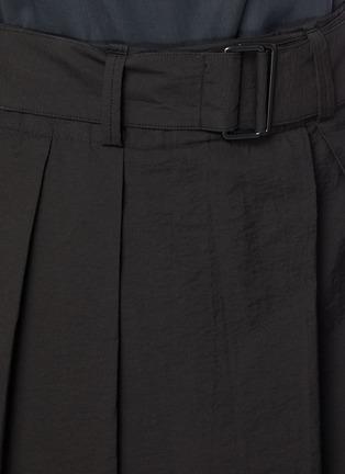 - LEMAIRE - 腰带褶裥露踝混棉裙裤