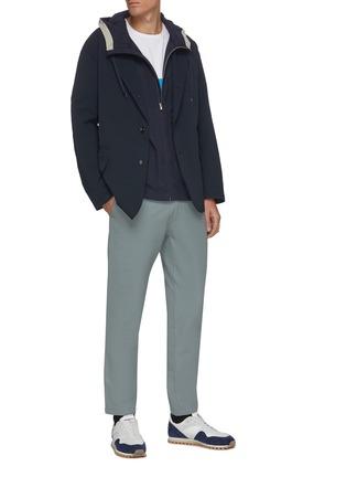 模特儿示范图 - 点击放大 - NANAMICA - 平驳领夹克
