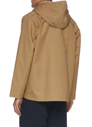 背面 - 点击放大 - NANAMICA - 翻盖口袋功能纯棉连帽夹克