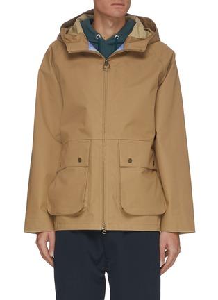 首图 - 点击放大 - NANAMICA - 翻盖口袋功能纯棉连帽夹克
