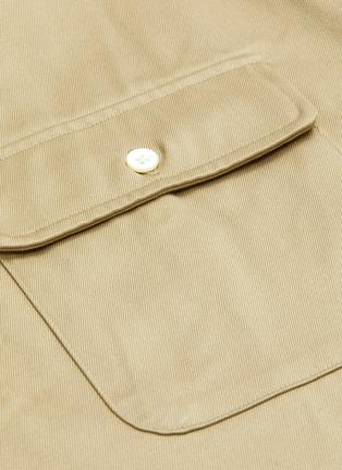- NANAMICA - 拼贴口袋衬衫