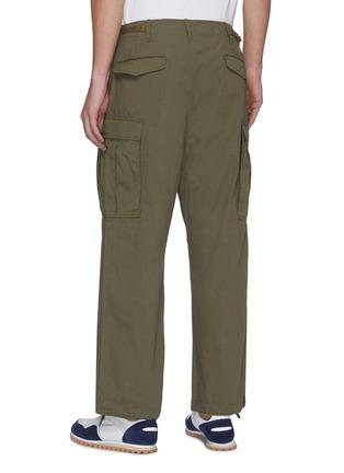 背面 - 点击放大 - NANAMICA - 翻盖口袋混棉工装裤