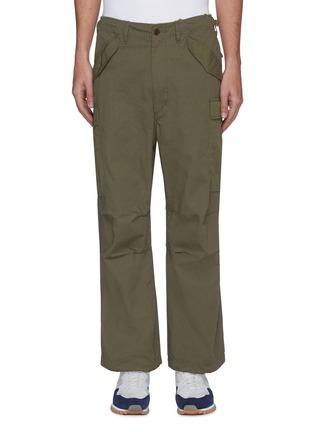 首图 - 点击放大 - NANAMICA - 翻盖口袋混棉工装裤