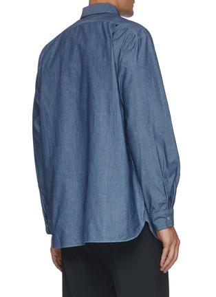 背面 - 点击放大 - NANAMICA - 拼贴口袋衬衫