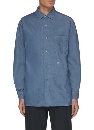 首图 - 点击放大 - NANAMICA - 拼贴口袋衬衫