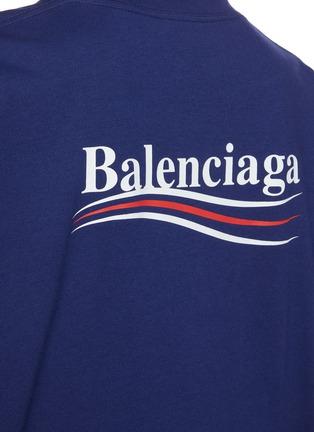 - BALENCIAGA - logo纯棉T恤
