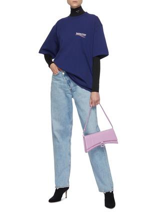 模特儿示范图 - 点击放大 - BALENCIAGA - logo纯棉T恤
