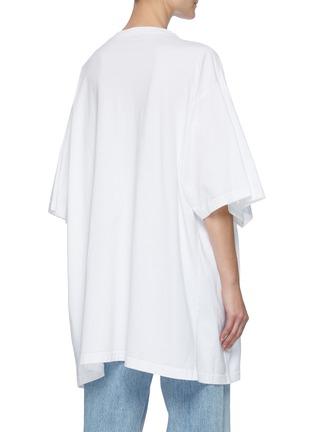 背面 - 点击放大 - BALENCIAGA - 趣味地球图案纯棉T恤