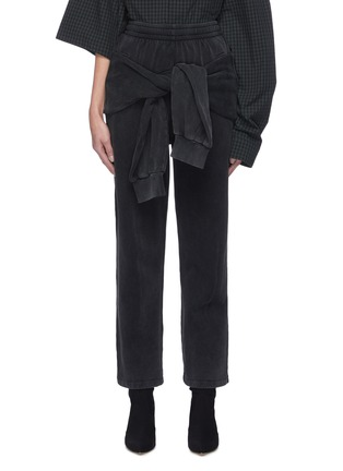 首图 - 点击放大 - BALENCIAGA - 系带纯棉休闲裤
