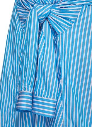 - BALENCIAGA - 系结拼色条纹纯棉半裙