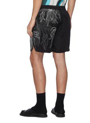 背面 - 点击放大 - DANSHAN - Splashes抽象图案短裤