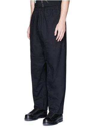 正面 - 点击放大 - MARCELO BURLON - ANTISANA品牌标志刺绣休闲裤
