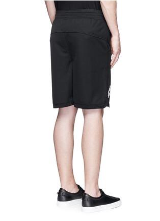 背面 - 点击放大 - MARCELO BURLON - SAJAMA网眼拼接休闲短裤