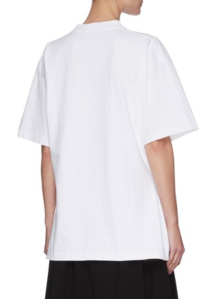 背面 - 点击放大 - BALENCIAGA - logo纯棉T恤