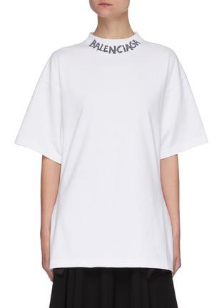 首图 - 点击放大 - BALENCIAGA - logo纯棉T恤