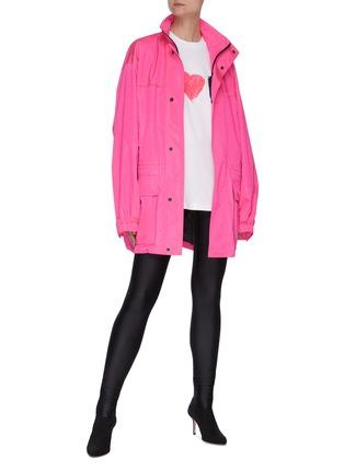模特儿示范图 - 点击放大 - BALENCIAGA - 纯色紧身裤