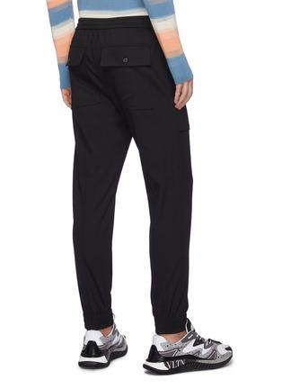 背面 - 点击放大 - SOLID HOMME - 松紧裤腰混羊毛休闲裤