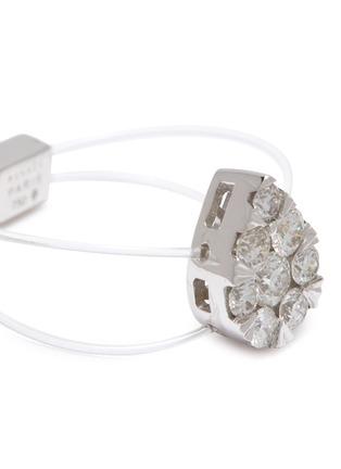 细节 - 点击放大 - PERSÉE PARIS - Imagine钻石点缀18k白金戒指