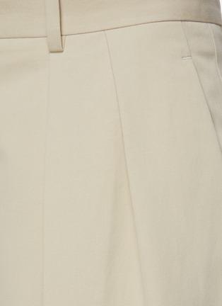 - THE ROW - 褶裥直脚纯棉西服长裤