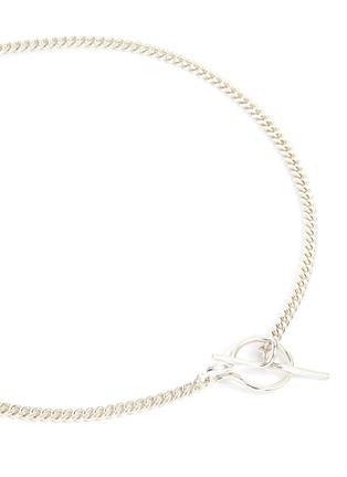 细节 - 点击放大 - VIBE HARSLØF - ELSA小号链条造型纯银项链