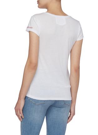 背面 - 点击放大 - FRAME DENIM - Good luck圆领有机棉T恤