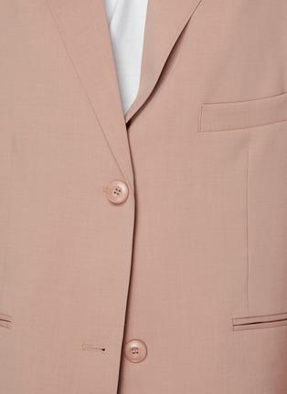 - THE FRANKIE SHOP - PERNILLE BOY平驳领单排扣西服外套