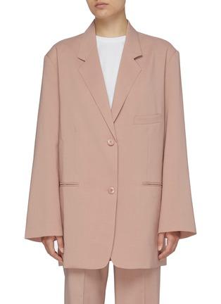 首图 - 点击放大 - THE FRANKIE SHOP - PERNILLE BOY平驳领单排扣西服外套