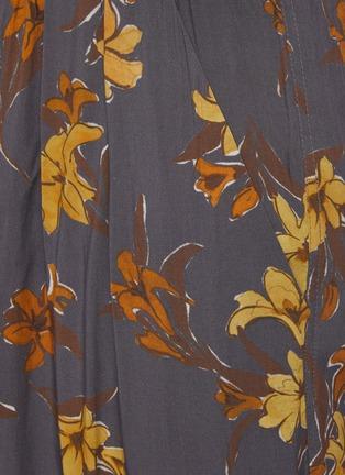 - NANUSHKA - 花卉图案抽绳长裤