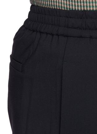- CORNERSTONE - 混羊毛锥形裤