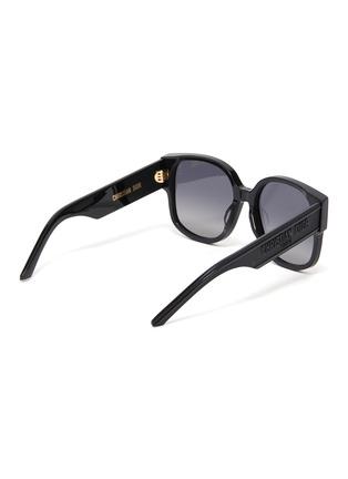 模特儿示范图 - 点击放大 - DIOR - Wildior品牌名称oversize板材太阳眼镜