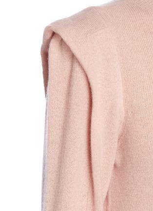 - FRAME DENIM - KENNEDY褶裥羊绒针织衫