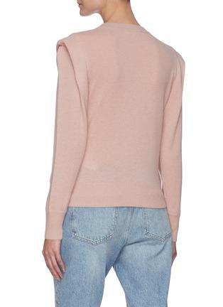 背面 - 点击放大 - FRAME DENIM - KENNEDY褶裥羊绒针织衫
