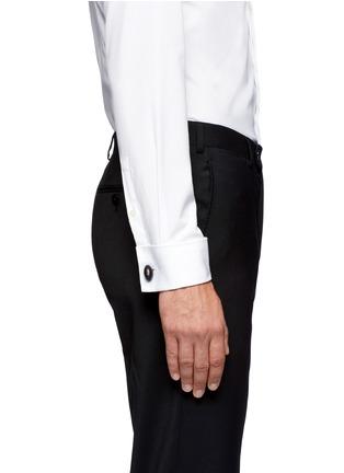 模特儿示范图 - 点击放大 - PAUL SMITH - Enamel American football cufflinks