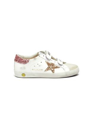 首图 - 点击放大 - GOLDEN GOOSE - OLD SCHOOL儿童款魔术贴搭带做旧感真皮运动鞋