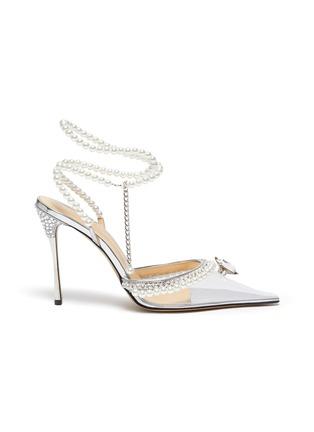 首图 - 点击放大 - MACH & MACH - 仿水晶人造珍珠PVC高跟鞋