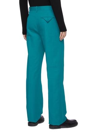 背面 - 点击放大 - BOTTEGA VENETA - 三角形口袋布饰纯棉长裤