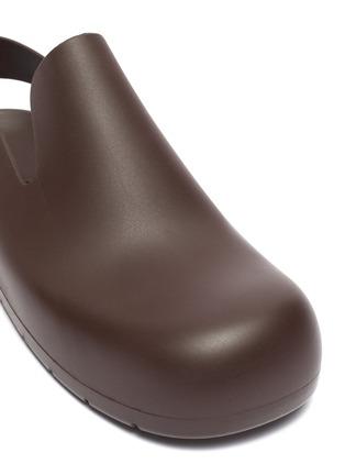 细节 - 点击放大 - BOTTEGA VENETA - 露跟橡胶凉鞋