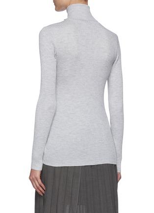背面 - 点击放大 - BRUNELLO CUCINELLI - 高领混羊绒针织衫